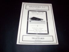 Southport Reserves v Trafford Reserves, 1997/98